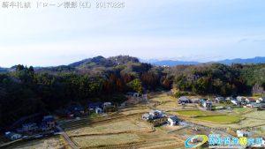騎牟礼城 日本史最強の伝説的武将 源為朝が砦とした山城 ドローン撮影(4K) Vol.2