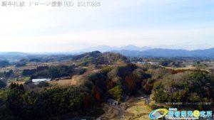 騎牟礼城 日本史最強の伝説的武将 源為朝が砦とした山城 ドローン撮影(4K) Vol.4