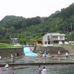 2017年7月16日(日) 第32回入田名水祭 河川プール開きが開催