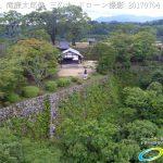 【観光】 岡城の見どころピックアップ!二の丸の滝廉太郎像 岡城 ドローン撮影(4K)写真 Vol.12 20170704
