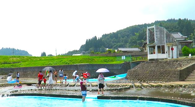 河川プール開き・入田名水祭